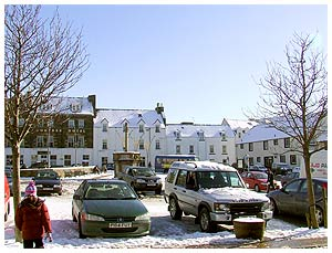 Portree in  Snow